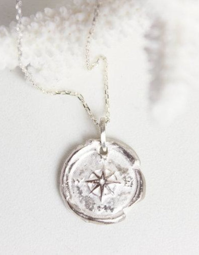 Robin Haley Jewelry Compass Necklace