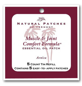 Natural Patches of Vermont Muscle & Joint Comfort Formula