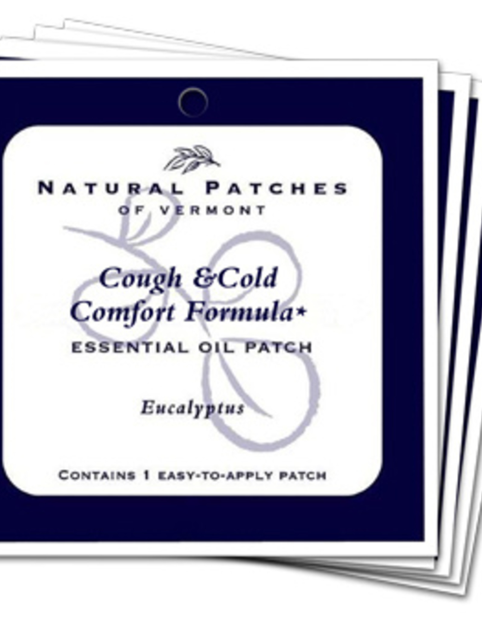 Natural Patches of Vermont Soothing Coughs & Colds Formula Single Patch