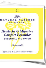 Natural Patches of Vermont Headache + Migraine Comfort Formula