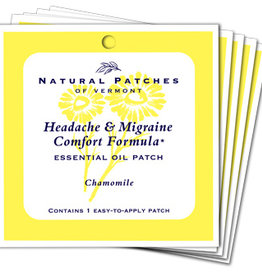 Natural Patches of Vermont Headache + Migraine Comfort Formula
