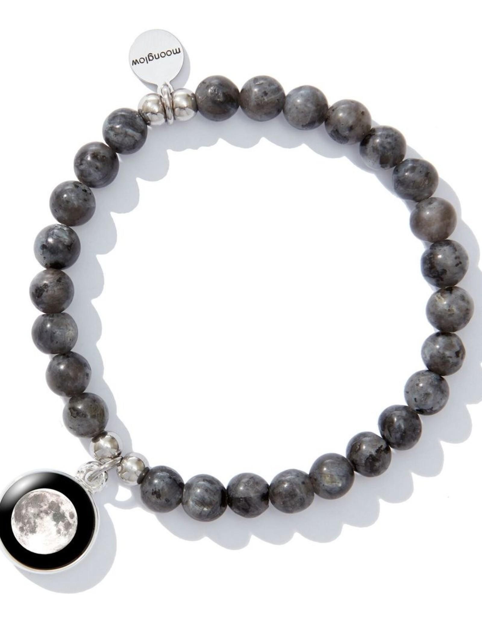 Moonglow Labradorite Beaded Bracelet (DC)