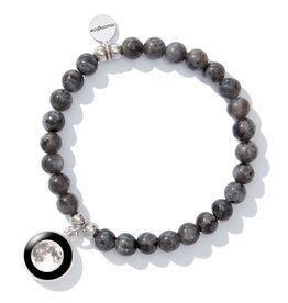 Moonglow Labradorite Beaded Bracelet (DC)