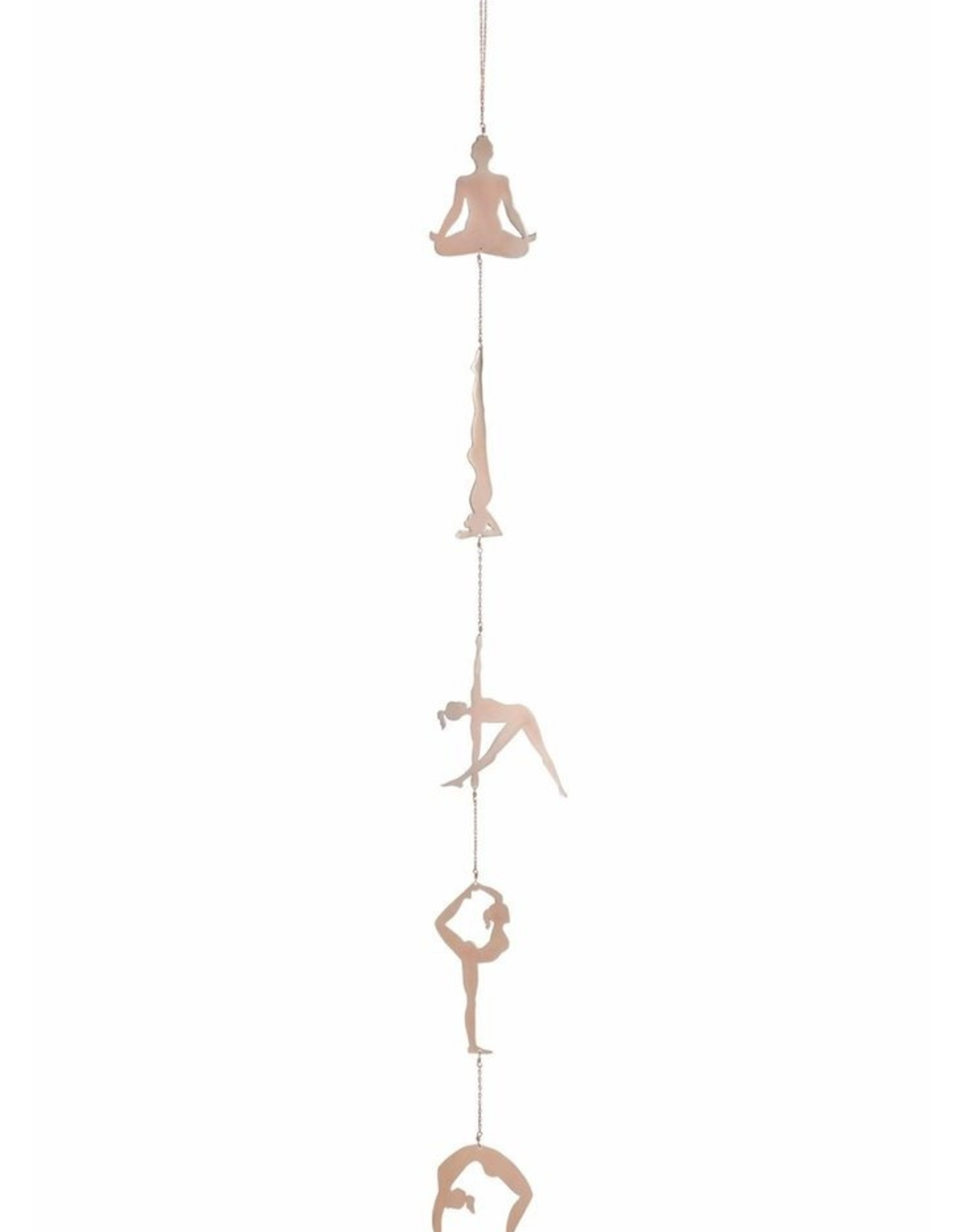 Ariana Ost Yoga Pose Wall Hanging