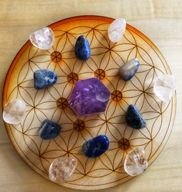 Health Crystal Grid Set