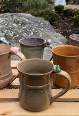 Burnt Mill Potters Crystal Healing Mug (Assorted)