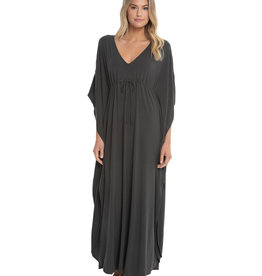 Barefoot Dreams Luxe Milk Jersey Paradise Cove Caftan