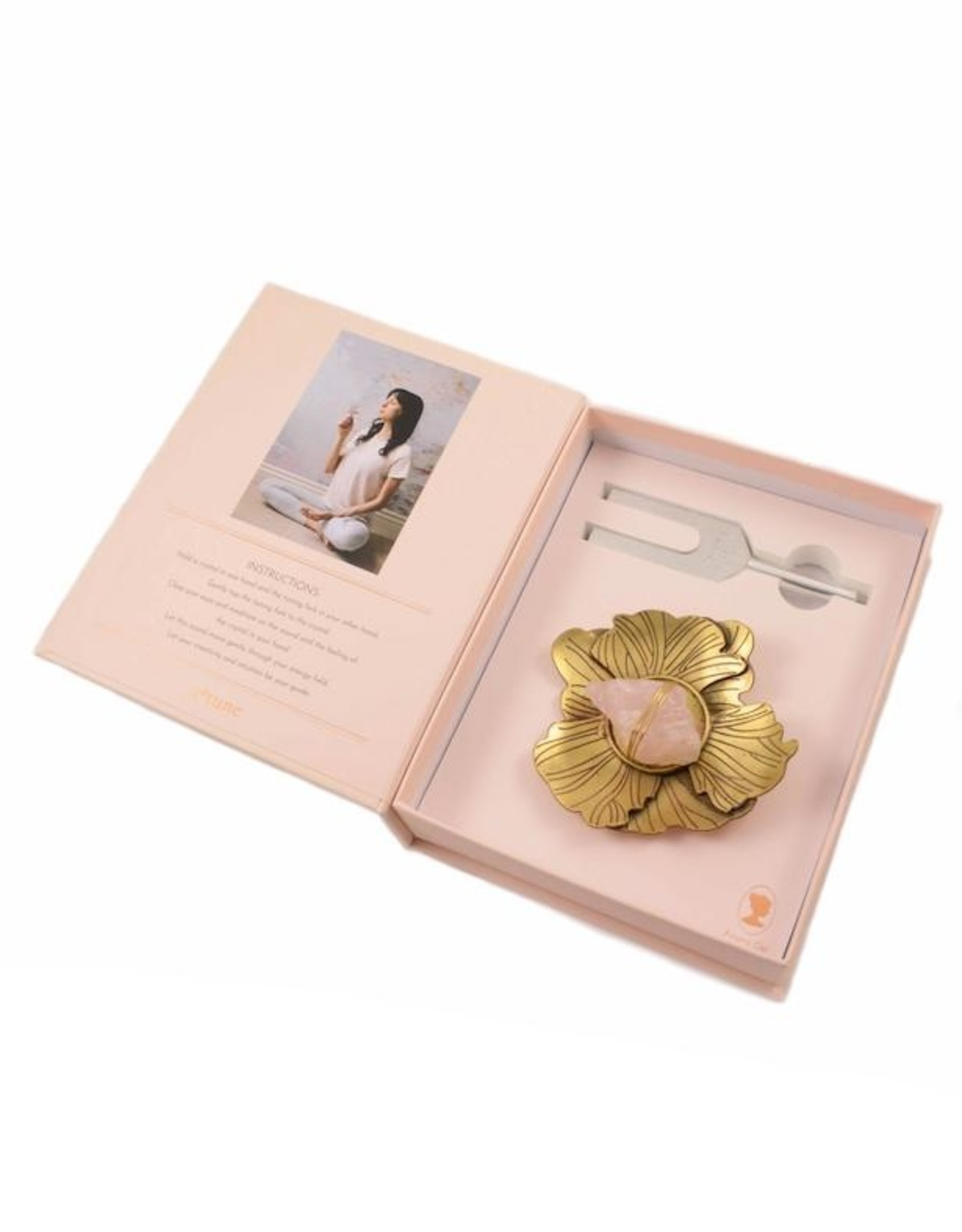 Ariana Ost Sound Healing Crystal Kit: Flower