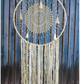 Modelli Creations White Boho Dream Catcher