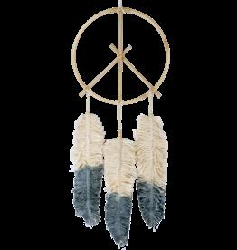 dZi Inc. Peace Feather Dreamcatcher