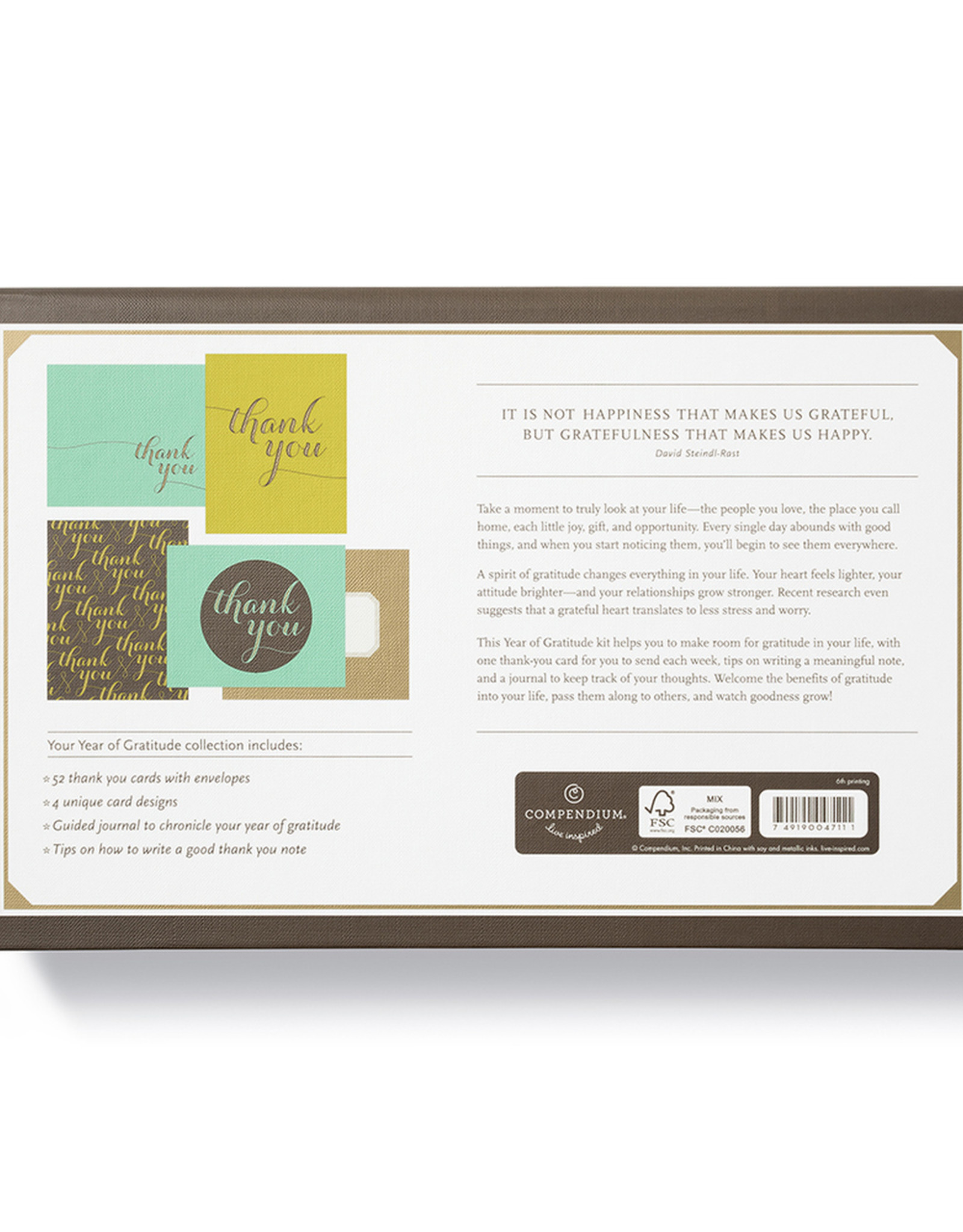 Compendium, Inc. A Year of Gratitude Kit (DC)