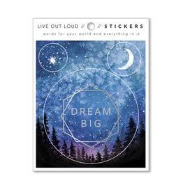 Compendium, Inc. Dream Big - Sticker