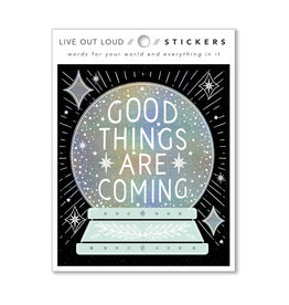Compendium, Inc. Good Things Are Coming - Sticker