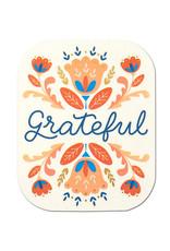 Compendium, Inc. Grateful - Sticker DC