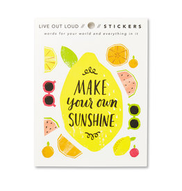 Compendium, Inc. Make your own Sunshine - Sticker