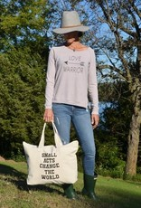 Small Acts Change The World Tote Bag