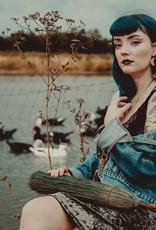 Flatwoods Fawn Rhiannon Moon and Star Earrings