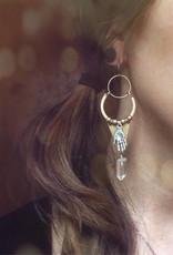 Flatwoods Fawn Palmistry Earrings