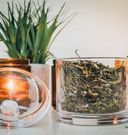 Tea & Tarot White Witch: White Pomegranate Tea