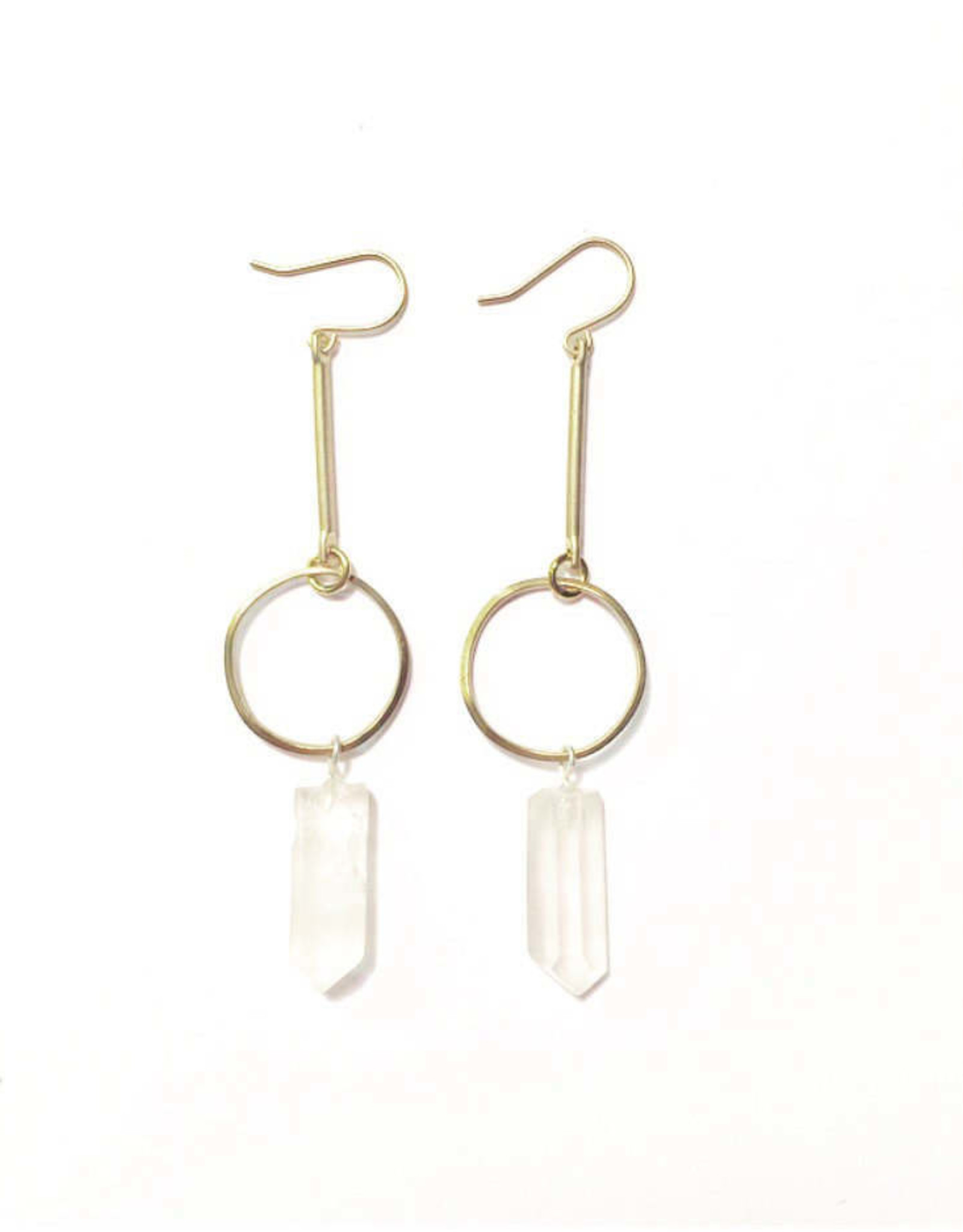 Flatwoods Fawn Crystal Drop Earrings