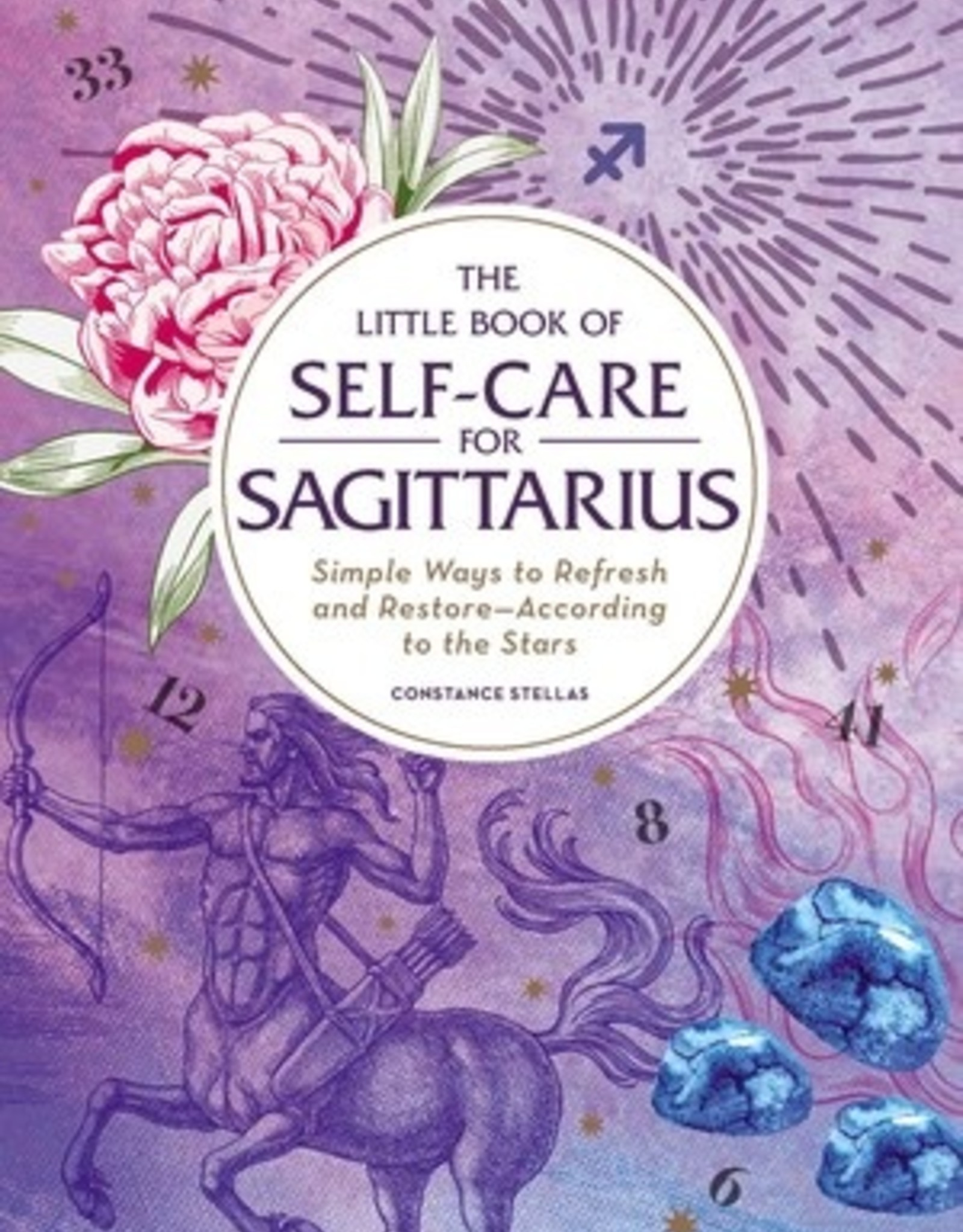 Simon & Schuster The Little Book of Self-Care for Sagittarius