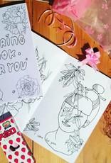 lovestruckprints Coloring Book Zine