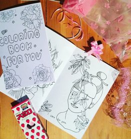 lovestruckprints Coloring Book Zine
