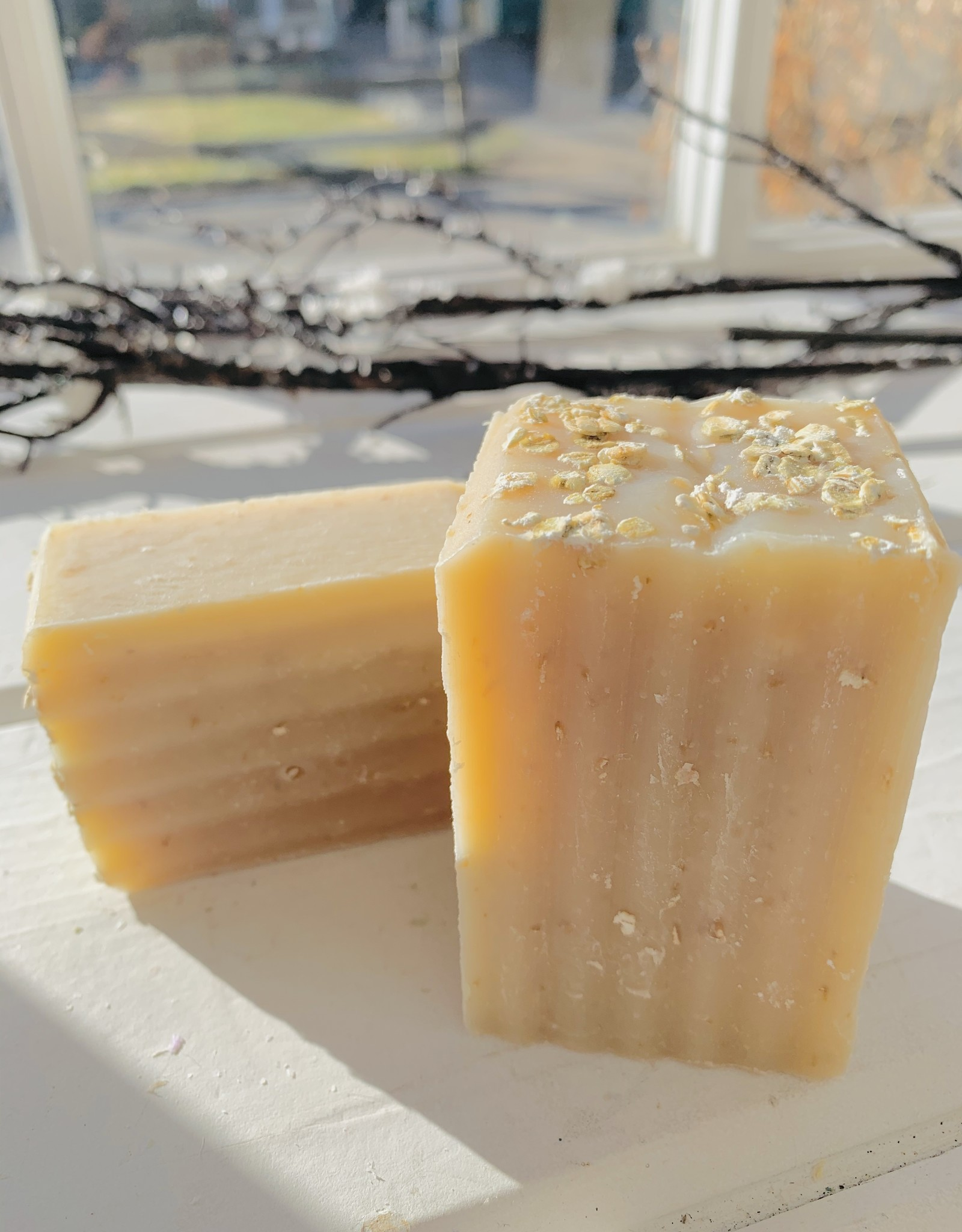 Becca Rose Oatmeal Lavender Goat Milk Soap 4 oz Bar