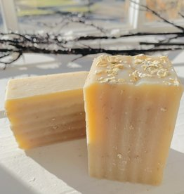 Becca Rose Oatmeal Lavender Goat Milk Soap