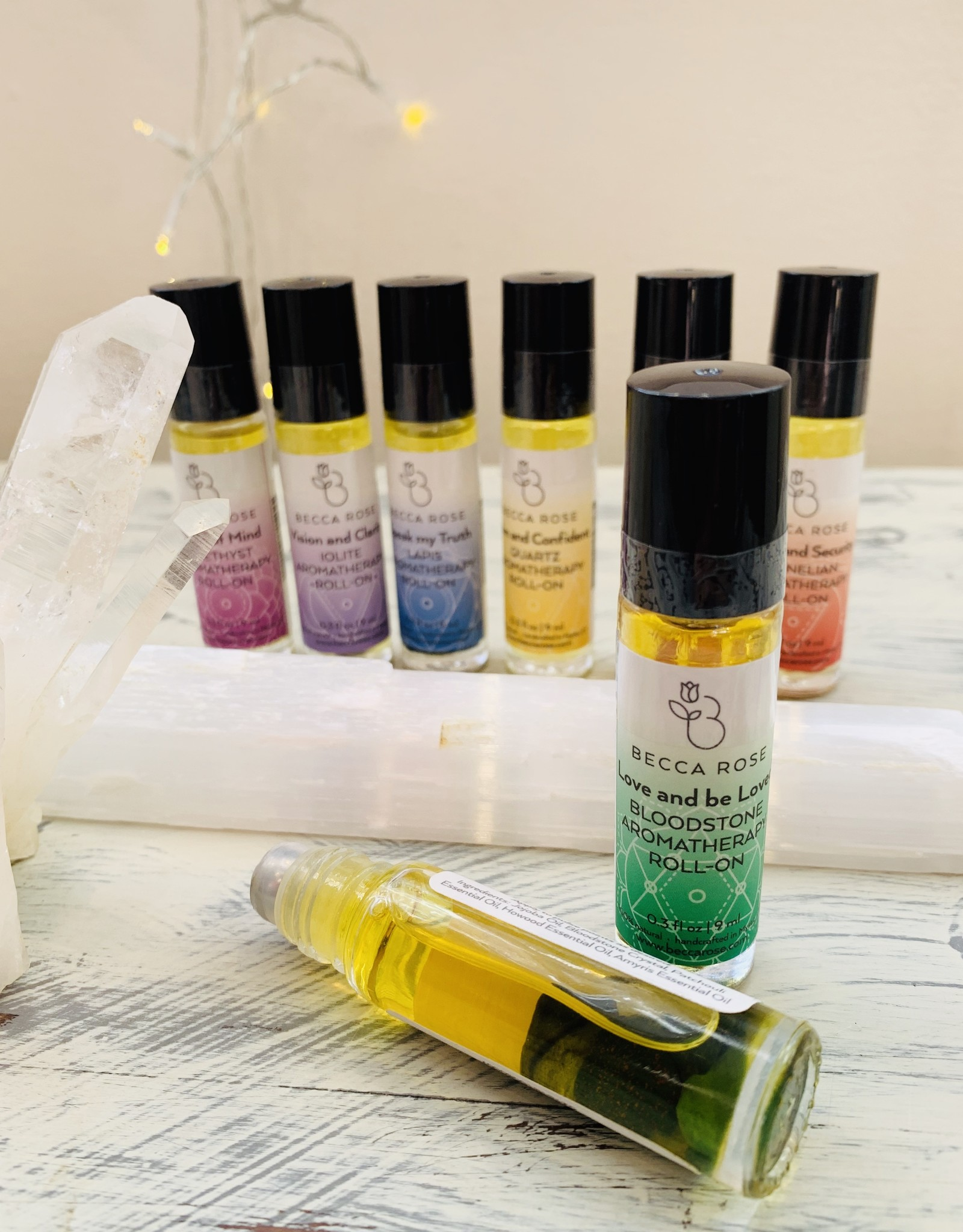 Becca Rose Roll-On: Heart Chakra- Love and be Loved
