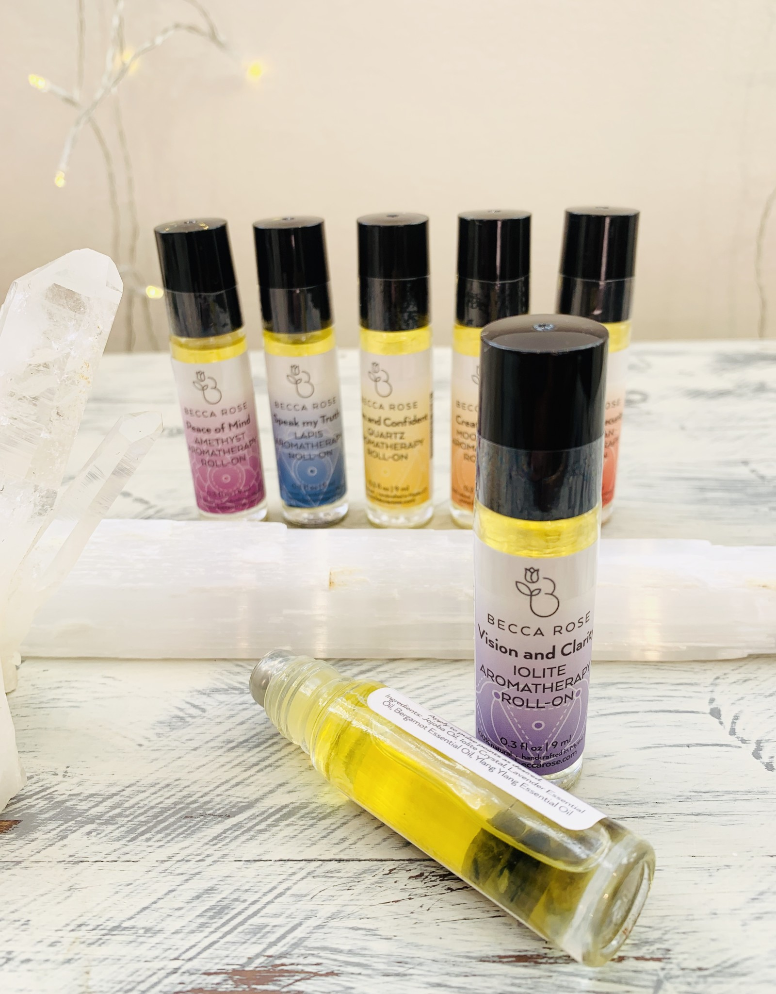 Becca Rose Third Eye Chakra: Vision and Clarity Roll-on