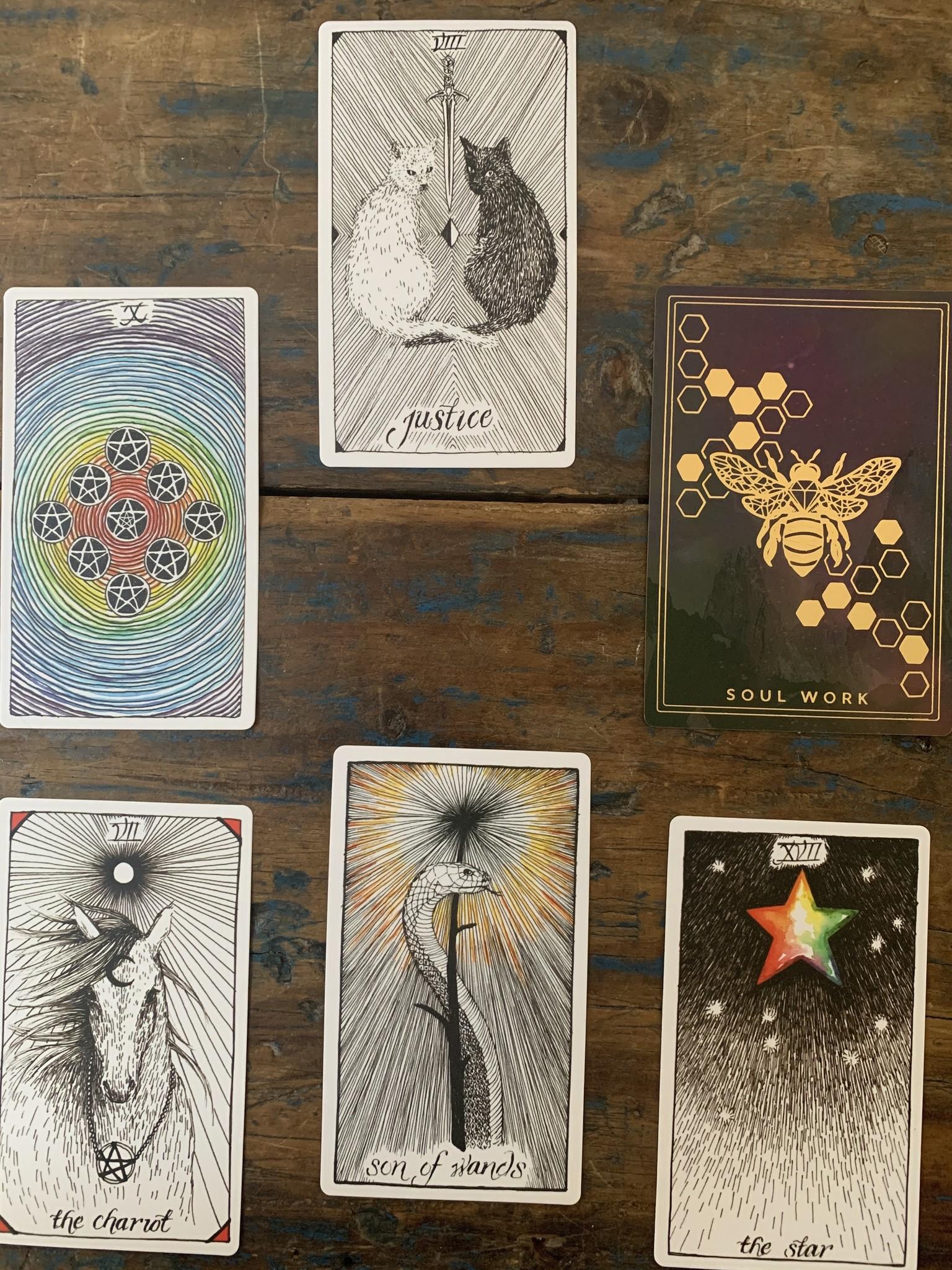 Healing our Politics Tarot Spread
