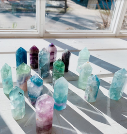 Pelham Grayson Fluorite Points