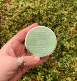 Goddex Apothecary Inner Strength Lotion Bar with Tin