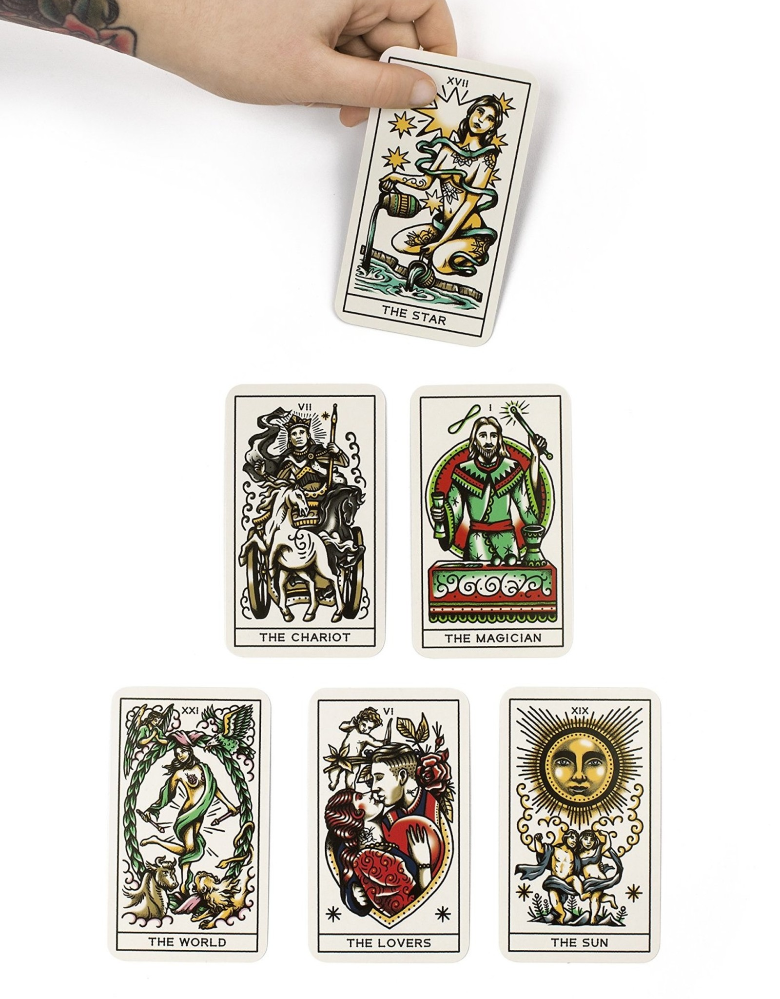 Hachette Book Group Tattoo Tarot: Ink & Intuition