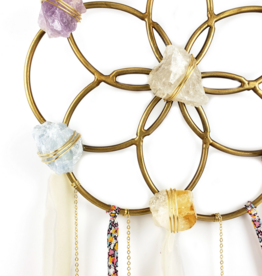 Ariana Ost Flower Of Life - Crystal Healing Grid - Dreamcatcher