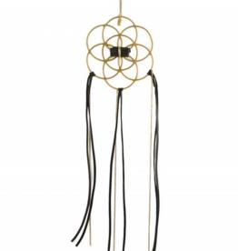 Ariana Ost Dreamcatcher Crystal Grid - black tourmaline