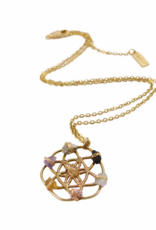 Ariana Ost Crystal Grid Necklace