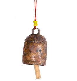 """Matr Boomie Copper Handmade Bell - 6.5"""""""