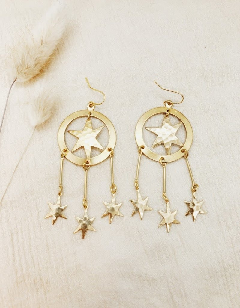 Flatwoods Fawn Constellation Earrings