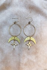 Flatwoods Fawn Theia Earrings - Gold