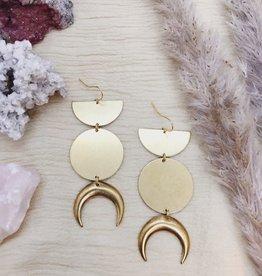 Flatwoods Fawn Selene Earrings