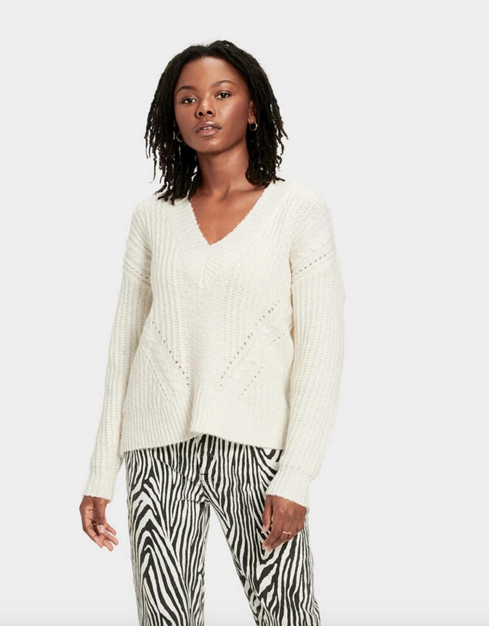 UGG Alva Deep V Neck Sweater