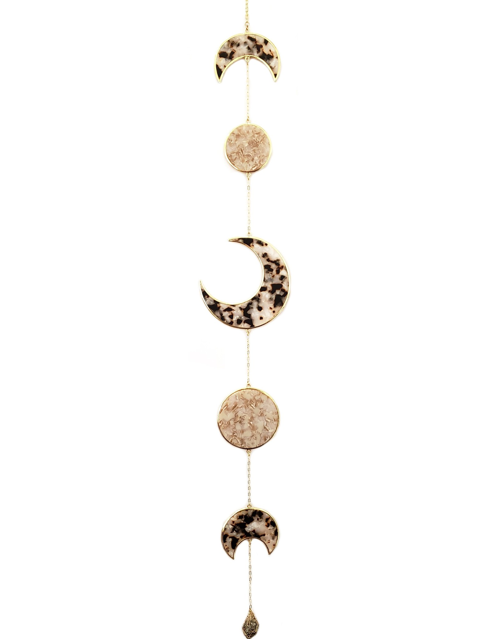 Ariana Ost Resin Moon Phase Wall Hanging