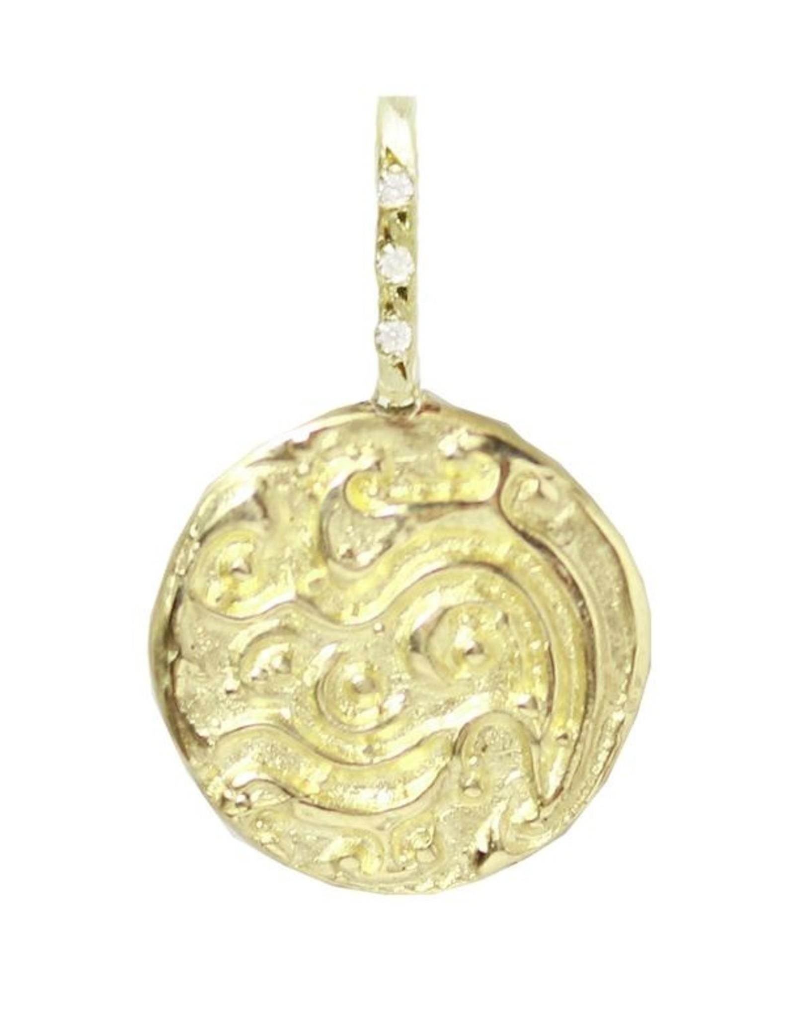 Robin Haley Jewelry Water Artifact Necklace w/Diamond Bail