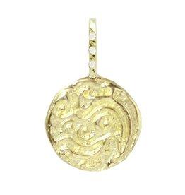 Robin Haley Jewelry SILVER Water Artifact Necklace w/Diamond Bail