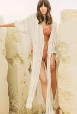 The Handloom Nikki Tie Front Kimono
