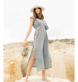 The Handloom Lotus Maxi Dress
