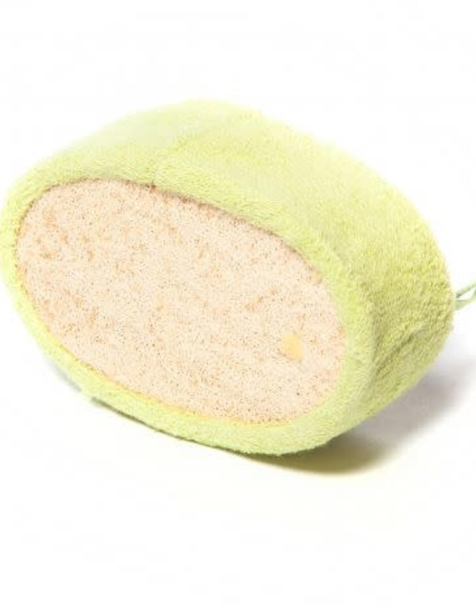 Sponges Direct Bamboo Loofah Fiber Scrubbing Block