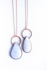 HawkHouse Rainbow Moonstone Necklace